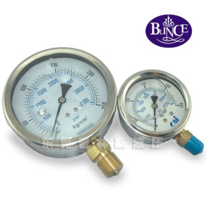 High Quality Glycerine or Silicone Oil Filled Pressure Gauge pictures & photos
