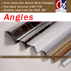 Aluminum Angles and Aluminum Square Pipes with High Tolerance (ST-YM026)