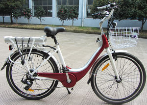 New Design Steel Frame City E Bike pictures & photos