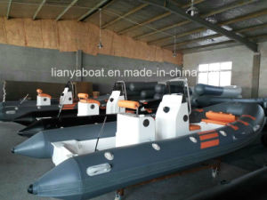 Liya 5.2m 10persons Military Rib Boats Fast Patrol Boat for Sale pictures & photos