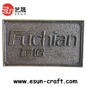 Brushed Aluminum Logo Anodized Nameplates (NP0021)