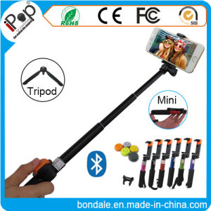 Bluetooth Aluminum Mini Selfie Stick Kit with Remote Shutter Selfie Stick pictures & photos