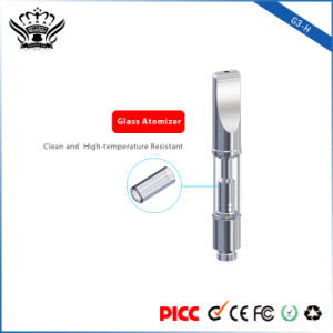 G3-H 0.5ml Dual Coil Glass Cbd Oil Vape Clearomizer Electronic Cigarette pictures & photos
