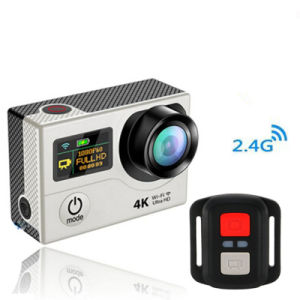 Vr360 4k Ultra HD Dual Screen WiFi Extreme Sport Outdoor Action Camera 2.4G Controller pictures & photos