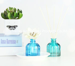 100ml Glass Aroma Reed Diffuser Bottle, Reed Diffuser with Rattan Sticks pictures & photos