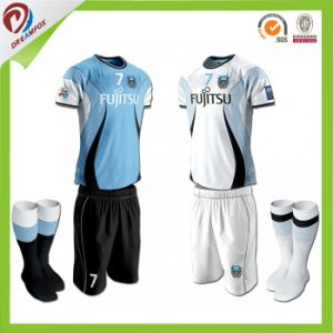 2017 Promotional New Design Sublimation Soccer Jersey for Man pictures & photos