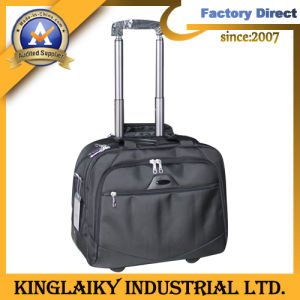 High-End Trolley Laptop Bag for Promotion with Logo (KLB-003) pictures & photos