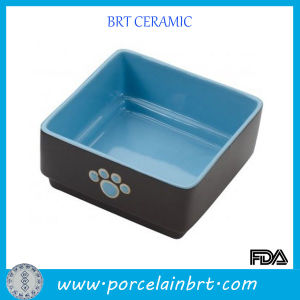 Custom Color Square Feeder Bowl Dog pictures & photos