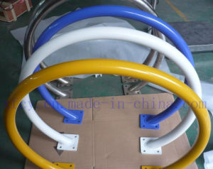 Powder Coated Carbon Steel Circle Bike Rack pictures & photos