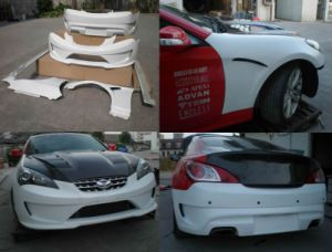 Fiberglass FRP Body Kits for Hyundai Genesis 2008+ (Sport) pictures & photos