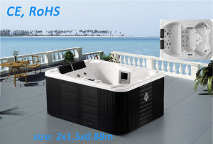Outdoor Acrylic Bathtub Jacuzzi Whirlpool SPA pictures & photos