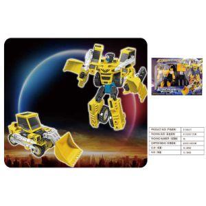 Boy Gift Construction Model Deformation Robot Building Truck Toy