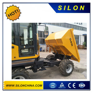 Silon 3000kg New Skid Steer Loader with Hydraulic Tipping System pictures & photos