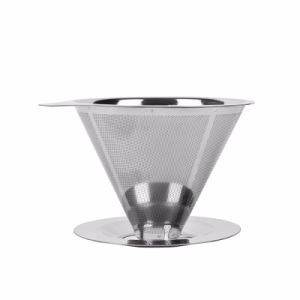 Stainless Steel Coffee Filter Dripper pictures & photos
