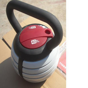 2014 Hot Sales: 40lbs Adjustable Kettlebell pictures & photos