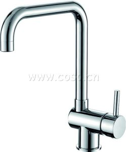 Brass Kitchen Faucet Mixer DC837 pictures & photos