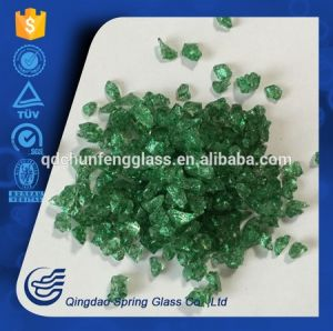 0.1mm-4.0mm Clear Crushed Decorative Glass pictures & photos