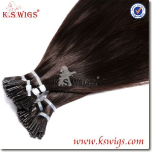 Keratin Remy Human Hair Extension Indian Human Hair pictures & photos