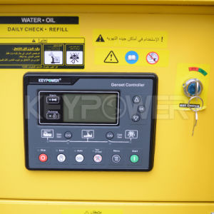 Yellow Coulour Silent Diesel Power Generator Set with Ce ISO9001 pictures & photos