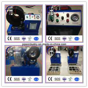 "Factory Promotional New Type 1/4""-2"" Hydraulic Hose Crimping Machine pictures & photos"