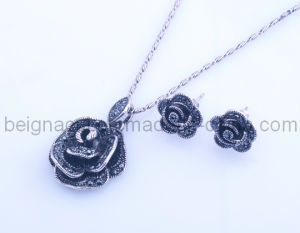 Fashion Rose Design Set Jewelry