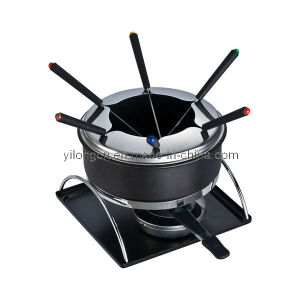 New Styled Stainless Steel Cheese Fondue Set (BC-J3)