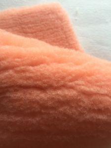 Orange Poylester Paint Roller Fabric pictures & photos