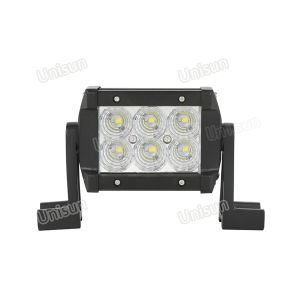 Waterproof 4.5inch 18watt 2-Row LED Car 4X4 Light Bar pictures & photos