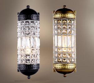 Metal Wall Lamp with Crystal Shade (WHW-480) pictures & photos