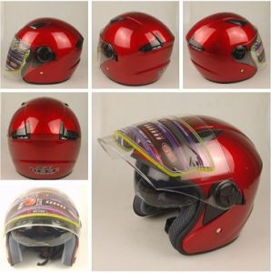 Open ABS Motorcycle Cheap Full Face Half Face Flip Helmet Stm (HD2006) pictures & photos