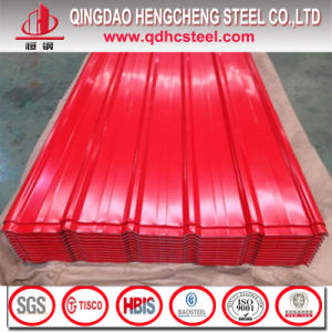 Color Corrugated Roofing Sheet/Prepainted Steel Sheet/PPGI Roofing Sheet pictures & photos