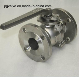Wcb A216 150lb API Ball Valve with Gear Box