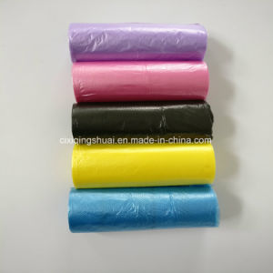 LDPE/HDPE Plastics Multicolor Garbage Bag pictures & photos