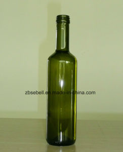 Round Shape Glass Bottles for Olive Oil pictures & photos