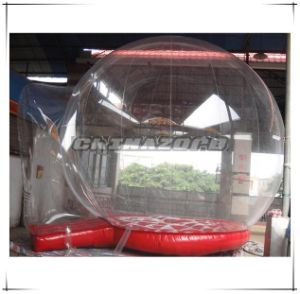 Transparent PVC Inflatable Human Snow Globe Air Snow Globe pictures & photos