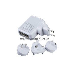 Universal 4 Port USB Travel Charger