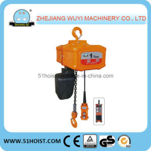 Hhw-B Electric Chain Hoist Hitachi Model 0.25t-10t (HHW-B10)