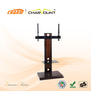 Good Design Wooden Furniture LCD TV Stand Has TV Bracket (CT-FTVS-Q301) pictures & photos