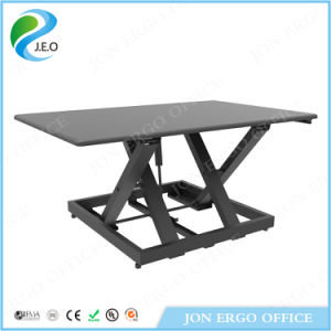 Gas Lifting Computer Stand up Desk (JN-LD09-L) pictures & photos