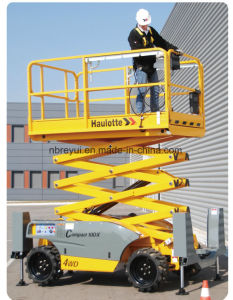 10-18m Cross-Country Scissors Aerial Working Platform pictures & photos