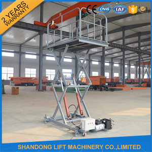 Adjustable Electric Scaffold Platforms / Hydraulic Work Platform Elevator pictures & photos