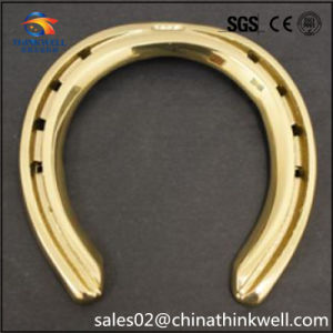 Copper Gold Plated Racing Equestrian Games Horseshoe Products pictures & photos