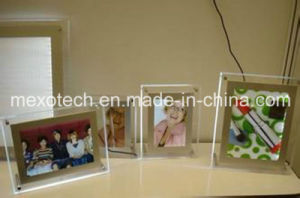 Tabletop Single Sided LED Crystal Photo Frame Light Boxes pictures & photos
