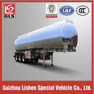 Low Price 40000L Tri-Axle Carbon Steel Oil Tanker Trailer pictures & photos