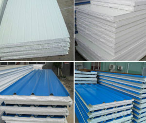 High Strengthen Flame Retardant Foam EPS Sandwich Roof Panel pictures & photos