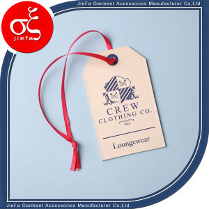 Beautiful Design Customized Hangtag for Garment pictures & photos