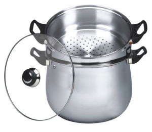 26cm Stainless Steel Couscous Pot (CP001) pictures & photos