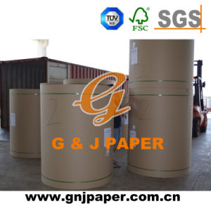 High Quality Coated Brown Kraft Liner Board with Printing pictures & photos
