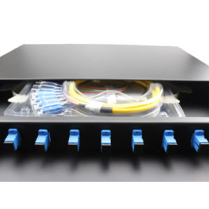 FC/Sc/St/LC MPO Fiber Optic Patch Panel pictures & photos