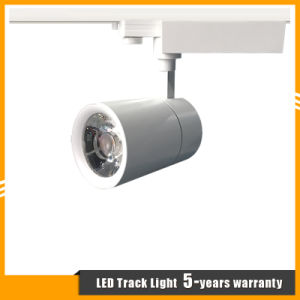 30W/35W/40W LED Track Spot Light for Shop/Store Lighting